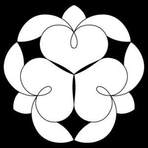 三つ寄せ藤の花