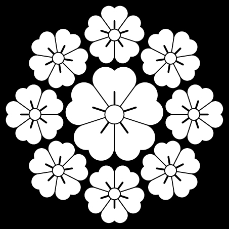 仙石九曜桜
