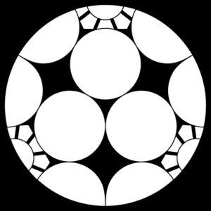 三つ割梅鉢
