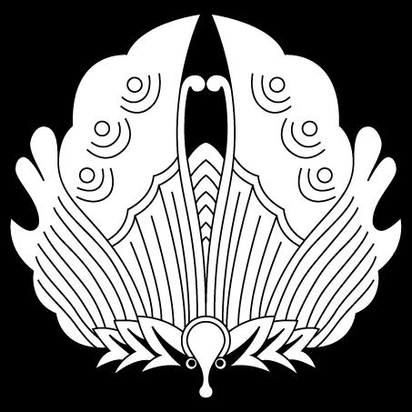 真向き揚羽蝶