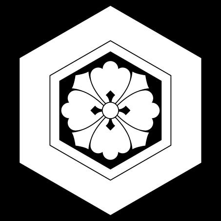 亀甲に剣花角(出雲大社)