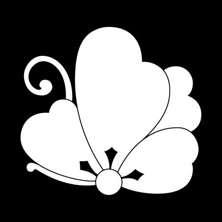 揚羽片喰蝶