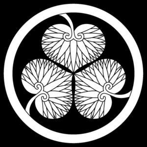 徳川葵巴(丸に三つ頭合せ三つ葵)