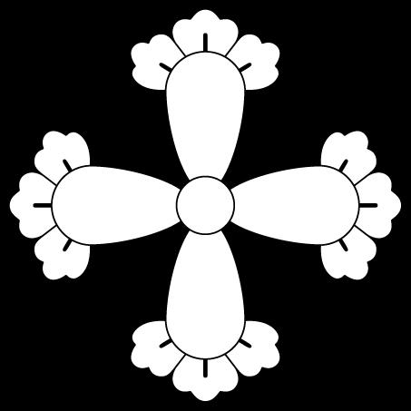 四つ花形丁子