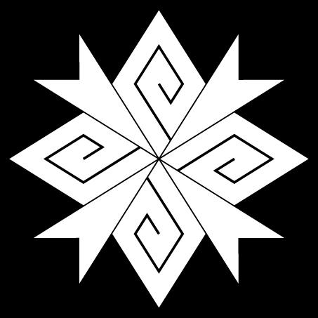 稲光付四つ稲妻菱