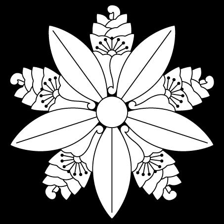 杏葉竜胆車(花杏葉車)