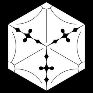 六角三つ割銀杏