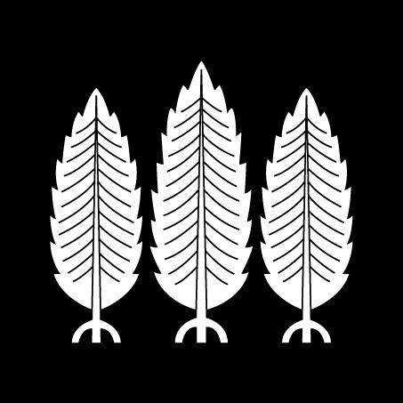 三本杉(建部神社)