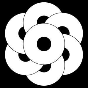 七つ捻じ蛇の目