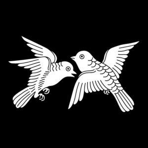 対い飛び鳩