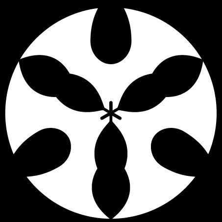 三つ琴柱の丸